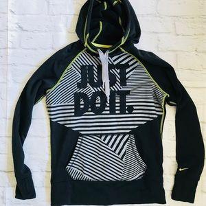 NIKE JUST DO IT thermafit hoodie sweatshirt M